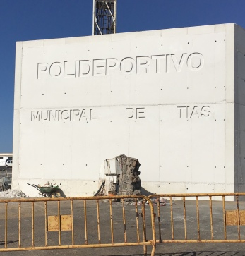 1-Panel Polideportivo Municipal Tías 7-11-17