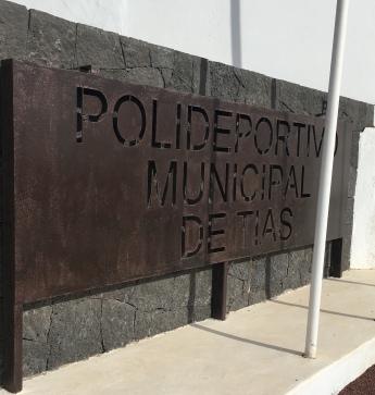2-Panel Polideportivo Municipal Tías