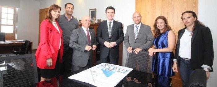 Soria última visita a Tías antes de dimitir como ministro en Abril 2016