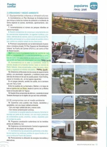 3-Programa electoral de 2011