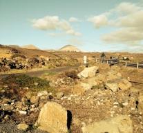 1-camino hoya limpia y zona de piedras posible carril de desaceleración para salir a lz 40 o rotonda el toro
